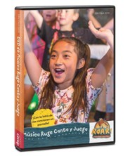 Roar: DVD de M&#250sica Canta y Juega (Sing & Play Music DVD, Spanish Edition)