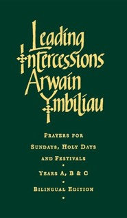 Leading Intercessions English/Welsh Edition: Prayers for Sundays, Holy Days and Festivals Years A, B & CBilingual Edition  -     By: Raymond Chapman, Cynthia Davies