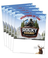 Rocky Railway: Publicity Posters (pkg. of 5)