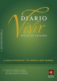 NTV Biblia de estudio del diario vivir, NTV Life Application Study Bible, hardcover  -