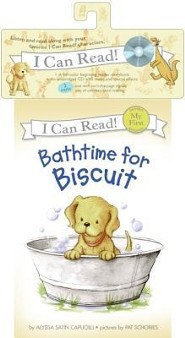 Bathtime for Biscuit [With CD]  -     By: Alyssa Satin Capucilli     Illustrated By: Pat Schories