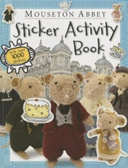 Mouseton Abbey Sticker Activity Book [With Sticker(s)]  -     By: Make Believe Ideas