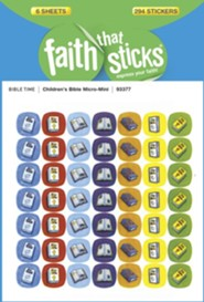 Stickers: Children's Bible Micro-Mini