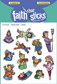 Stickers: Winter Kids   -