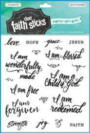 Faith That Sticks: Who I Am in Christ  -     By: Tyndale