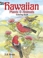 Hawaiian Plants and Animals Coloring Book  -     By: Y.S. Green