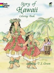 Story of Hawaii Coloring Book