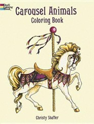 Carousel Animals Coloring Book  -     By: Christy Shaffer