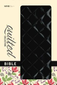 NIV Quilted Collection Bible, Italian Duo-Tone, Blackberry  -     By: Zondervan
