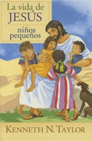 La Vida de Jesus para Ninos Peque&#241os   (Jesus In Pictures for Little Eyes)  -     By: Kenneth N. Taylor