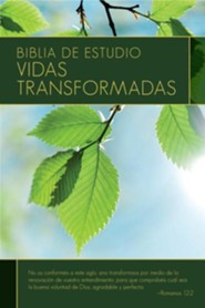 Biblia de estudio: Vidas transformadas dura Indice, Transformation Study Bible HC IDX