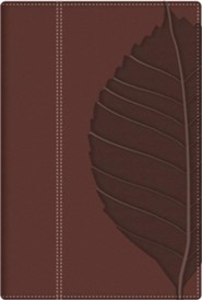 Imitation Leather Brown Red Letter Thumb Index