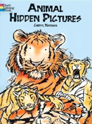 Animal Hidden Pictures  -     By: Cheryl Nathan, Marilyn Nathan