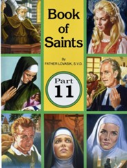 Book of Saints, Part 11, 10-Pack   -     By: Lawrence G. Lovasik