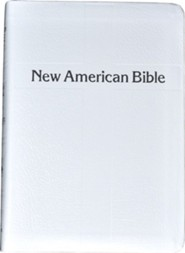 St. Joseph NAB Personal Size, Gift Edition White Bonded Leather  -