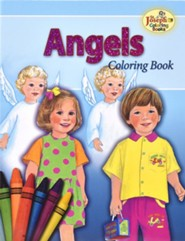 Angels Coloring Book, Pack of 10    -     By: Catholic Book Publishing Co