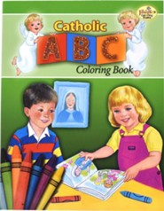 Catholic ABC Coloring Book, Pack of 10   -