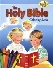 Coloring Book about the Holy Bible, Pack of 10   -