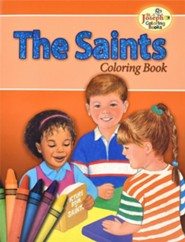 The Saints Coloring Book, Pack of 10    -