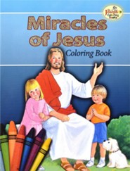 Miracles of Jesus Coloring Book, Pack of 10   -