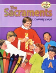 The Sacraments Coloring Book, Pack of 10