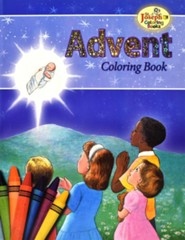 Advent Coloring Book, Pack of 10