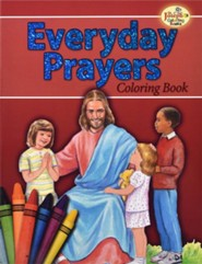 Everyday Prayers Coloring Book, Pack of 10   -     By: Catholic Book Publishing Co