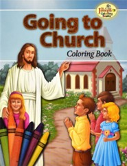 Going to Church Coloring Book, Pack of 10