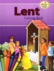 Coloring Book about Lent, Pack of 10   -     By: Catholic Book Publishing Co