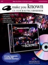 Make You Known (CD-ROM Digital Songbook)  - Slightly Imperfect