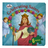Celebrating Saints (St. Joseph Beginner Puzzle Book)  -     By: Thomas Donaghy