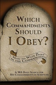 Which Commandments Should I Obey?: A 365 Daily Search for His Commandments in Scripture  -     By: Debra Stuart Sanford