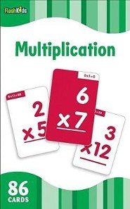 Multiplication, Flash Cards  -