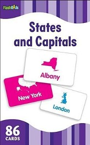 States and Capitals, Flash Cards  -