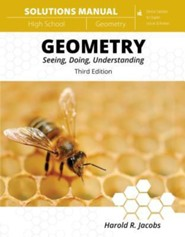 Harold Jacobs' Geometry 3rd Edition Solutions Manual