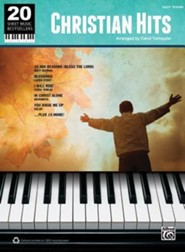 20 Sheetmusic Bestsellers: Christian Hits   -