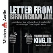 Letter from Birmingham Jail Unabridged Audiobook on CD