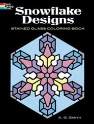 Snowflake Designs Stained Glass Coloring Book  -     By: A.G. Smith