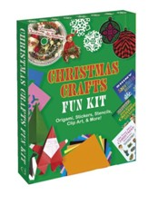 Christmas Crafts Fun Kit: Origami, Stickers, Stencils, Clip Art & More!  -     By: Dover Publications Inc
