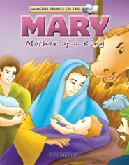 Mary Mother of a King  -     By: Joy Melissa Jensen     Illustrated By: Simi Lu