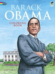 Barack Obama Coloring Book Green Edition  -     By: Gary Zaboly