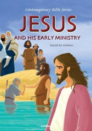 Jesus and His Early Ministry, Retold  -     By: Joy Melissa Jensen     Illustrated By: Gustavo Mazali