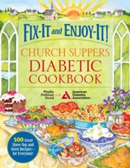 Fix-It and Enjoy-It Church Supper Diabetic Cookbook