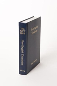 NET Pew Bible, Cloth, Navy