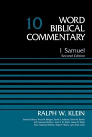 1 Samuel: Word Biblical Commentary, Volume 10 [WBC] (Revised)