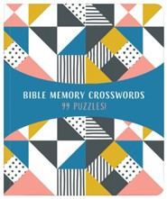 Bible Memory Crosswords: 99 Puzzles!