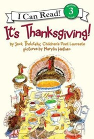It's Thanksgiving!  -     By: Jack Prelutsky     Illustrated By: Marylin Hafner