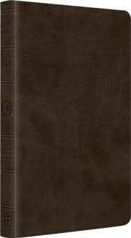 ESV Thinline Bible (TruTone, Olive), Imitation Leather