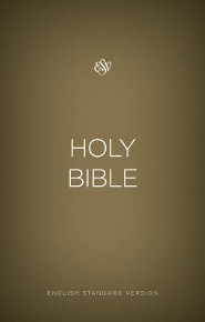 ESV Outreach Bible, Softcover, Gold