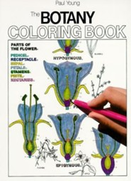 Botany Coloring Book  -     By: Paul Young     Illustrated By: Jacquelyn Giuffre